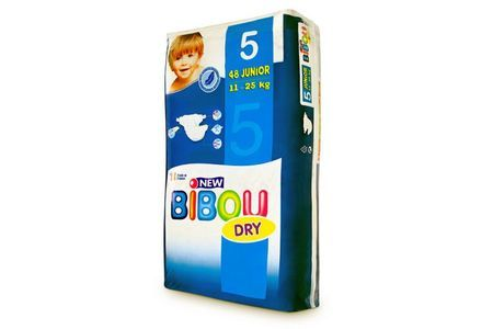 Carton de 3 x 48 changes pour bébés BIBOU N.5  - 11-25 Kg