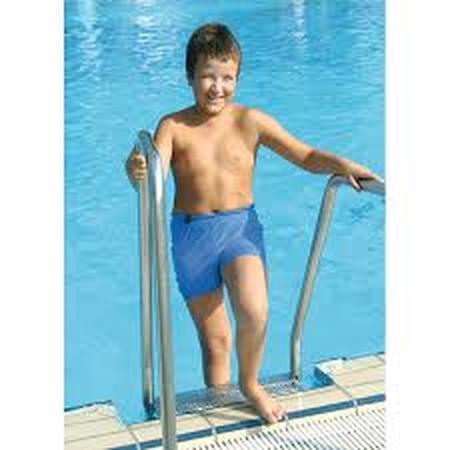 Short de bain étanche pour garçon - Bleu