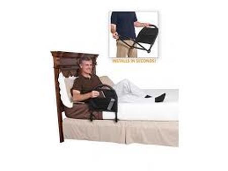 Petite barrière de lit rabattable
