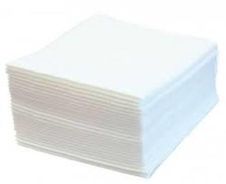 Carrés de soins 100% fibres de cellulose gaufrés 30 x 40 cm (carton de 32 x 50 carrés)