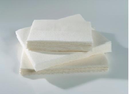 Essuies de toilette jetables 45 x 80 cm en ouate de cellulose (carton de 200 pièces)