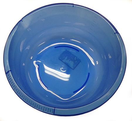 Bassin en plastique 6 litres bleu