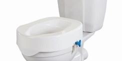 Rehausse-wc avec molette de réglage