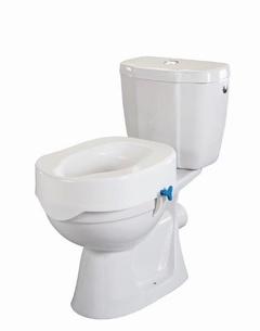 Rehausse-wc avec molette de réglage et couvercle