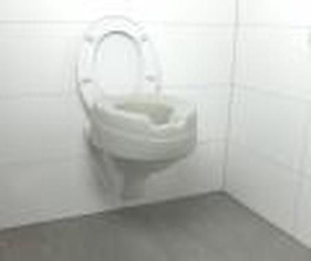 Rehausse-wc en mousse injectée - hauteur 11 cm