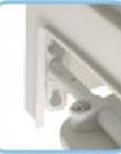 Rehausse-wc avec couvercle et accoudoirs escamotables