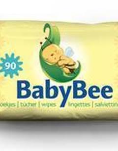 Paquet de 90 lingettes pour bébés - BABYBEE - 150 x 200 mm