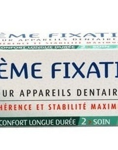 Crème fixative pour prothèses dentaire à l'Aloe Vera et Myrrhe - 40g