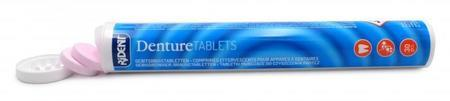 Comprimés nettoyants pour prothèse dentaire (tube de 32 pastilles)