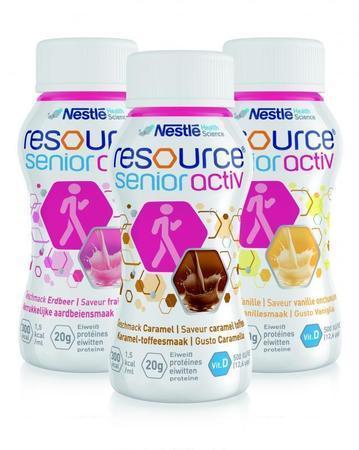 Ressource® SeniorActiv (pack de 4x200ml)
