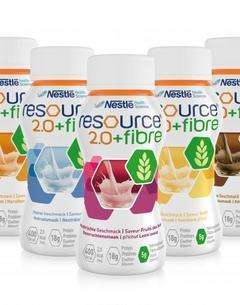 Ressource® 2.0 + fibres (pack de 4x200ml)