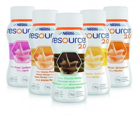 Ressource® 2.0 sans fibres (pack de 4x200ml)
