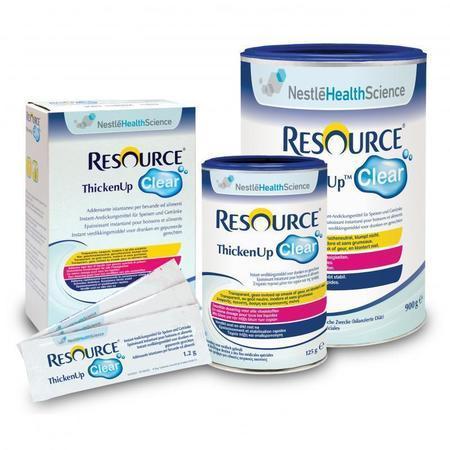 Ressource® ThickenUp Clear - Poudre épaississante (boîte de 125g)