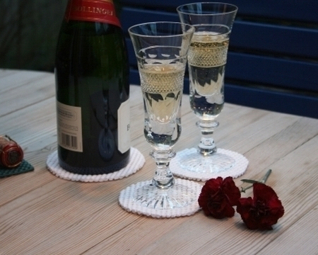 Poignées/dessous de verre antidérapant  StayPut™ (4 pces)