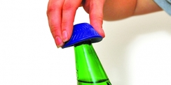 Ouvre-bouteille antidérapant en caoutchouc siliconé