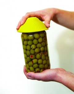 Ouvre-bocal antidérapant en caoutchouc siliconé