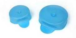 Couvercle de tasse ou de canette (2 pces : diam 6 et 8 cm)