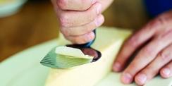 Rape à fromage avec poignée ergonomique