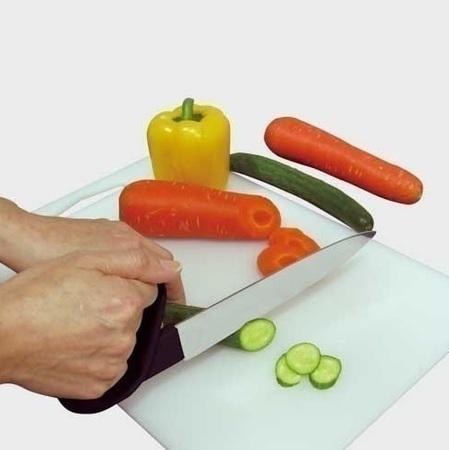 Couteau de chef avec manche ergonomique