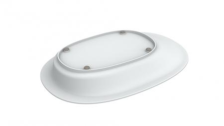 Assiette ovale antidérapante Henro-Tek