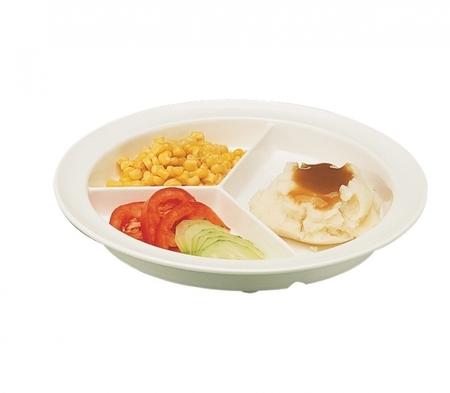 Assiette Gripware avec compartiments