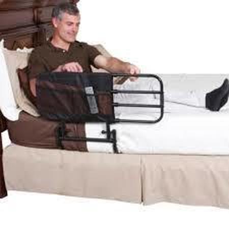 Barrière de lit réglable extensible
