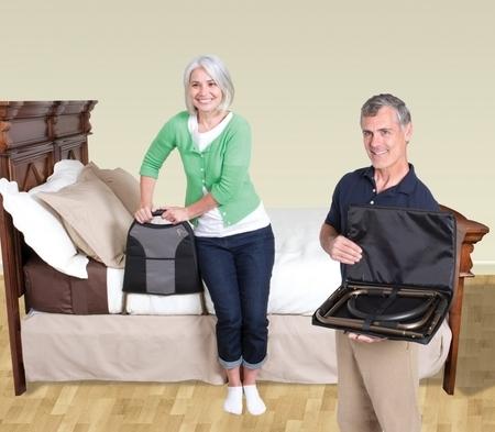 Barre d'appui de lit légère de voyage
