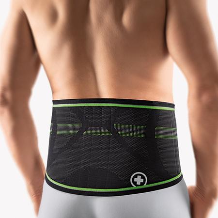Bandage pour le dos avec pelote StabiloBasic Sport BORT (Hommes)
