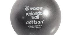 Ballon flexible gonflable Redondo diamère 22 cm - Gris