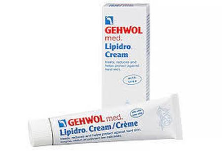 Lipidro crème GEHWOL Med 125ml