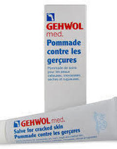 Pommade contre les gerçures GEHWOL Med 125ml