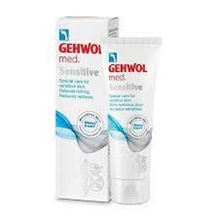 Crème pour pieds à peau sensible GEHWOL Med Sensitive 75ml