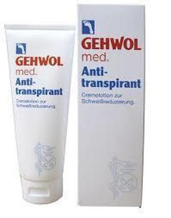 Lotion anti-transpirante pour les pieds GEHWOL Med 125ml