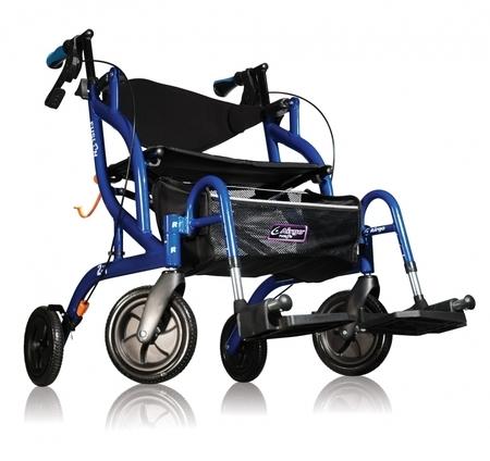 Déambulateur et chaise roulante 2 en 1 AIRGO® FUSION