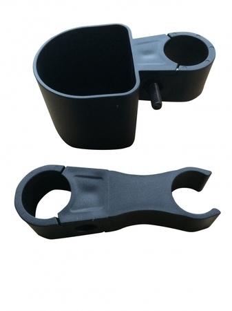 Support de canne ou béquille pour déambulateur