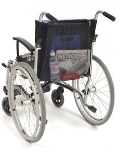 Filet à provisions pour cadre de marche/chaise roulante