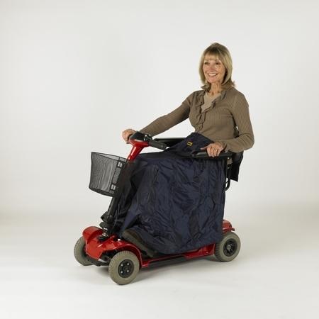 Protection de jambes pour utilisateur de scooter