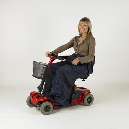 Chancelière de jambes pour utilisateur de scooter