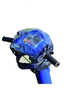 Housse imperméable pour panneau de commande de scooter