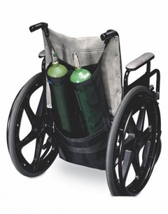 CarryOn porte-bouteilles d oxygène double pour chaise roulante