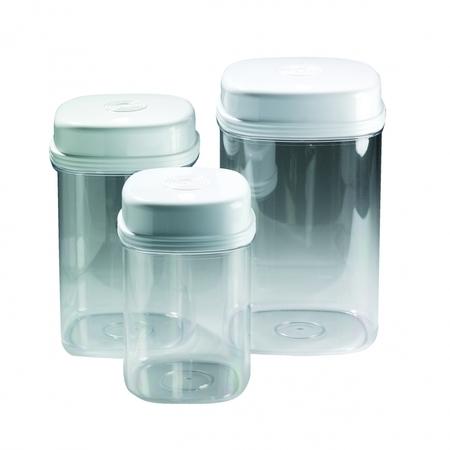 Boîtes à provisions - fonction unimanuelle (set de 3 pces)