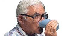 Gobelet à découpe nasale