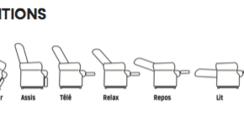 Fauteuil releveur Bi-moteur Confort Classic