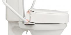 Rehausseur de toilette avec accoudoirs ETAC