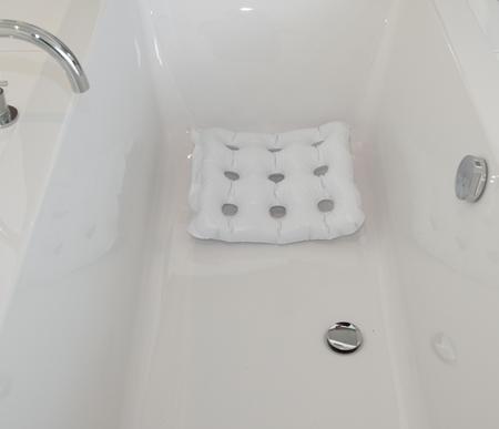 Coussin d'assise pour le bain
