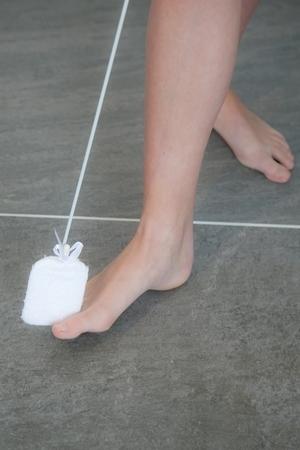 Lave orteils sur manche