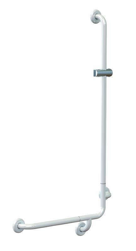 Barre d'appui coudée 50 x 120 cm