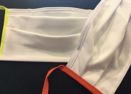 Masque tissu avec ou sans barrette nasale