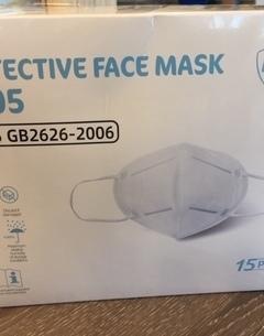 Masques KN95 (équivalent FFP2) agréés - Btes de 15 pièces