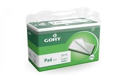 Carton de 4 valisettes jetables Gohy Super 60x60 (120 pces)